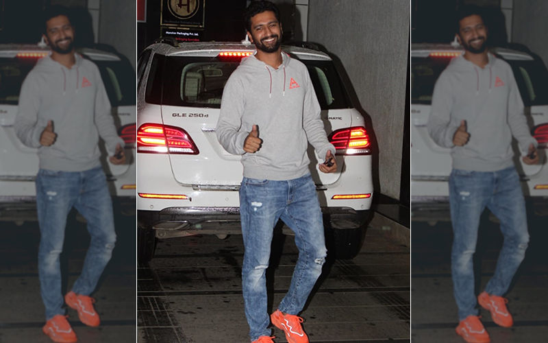 Vicky Kaushal Spotted At Ashutosh Gowarikar's Office. Movie On The Cards?