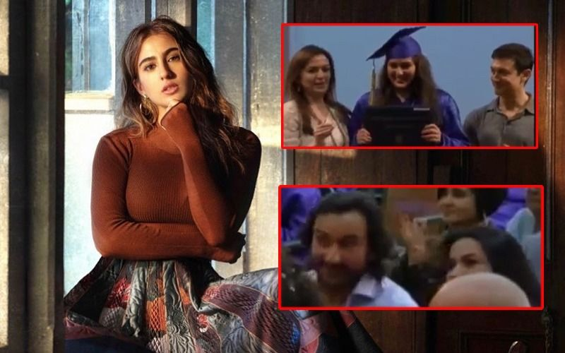 Sara Ali Khan's Throwback Graduation Day Video With Saif Ali Khan And Amrita Singh Cheering On Is Going Viral On The Internet