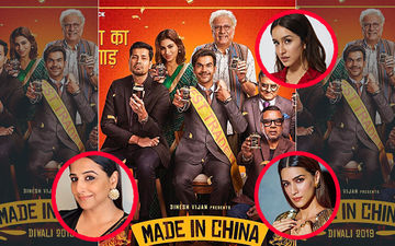 Rajkummar Rao's Leading Ladies Kriti Sanon, Vidya Balan, Shraddha Kapoor Are All Talk For Made In China Trailer