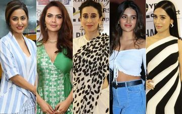 STUNNER OR BUMMER: Hina Khan, Esha Gupta, Karisma Kapoor, Nidhhi Agerwal Or Amrita Rao?
