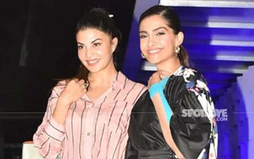 BFFs Sonam Kapoor And Jacqueline Fernandez Papped On A Dinner Date