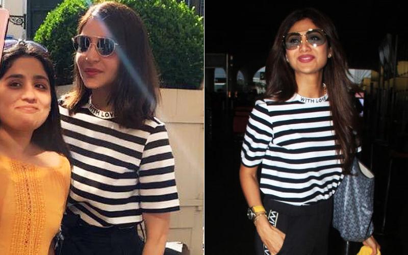 Anushka Sharma Vs Shilpa Shetty Kundra: Battle Of The Stripes