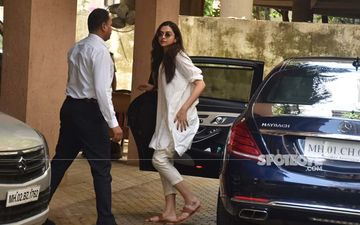 Deepika Padukone Gets Snapped At Sanjay Leela Bhansali' Office; Another Movie On The Cards?