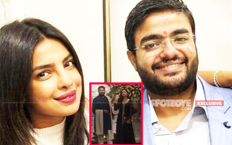 Priyanka Chopra's Brother Siddharth Chopra Spotted With A Gorgeous  Mystery Woman At Ambani's Residence For Ganpati Celebrations- EXCLUSIVE