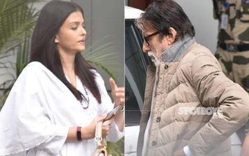 Ritu Nanda's Funeral: Aishwarya Rai Bachchan And Amitabh Bachchan Leave For Delhi