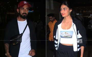 Rumoured Lovebirds KL Rahul And Athiya Shetty Are Back In The City Post Celebrating New Years Together - PICS