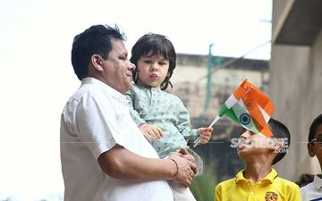 Republic Day 2020: Taimur Ali Khan Is A Proud Indian; Gets Snapped Waving The National Flag