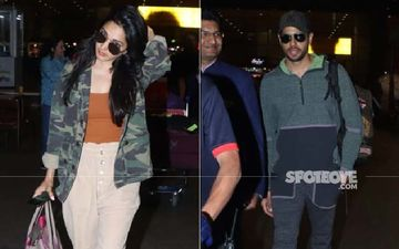 After Their Exotic Vacay, Rumoured Lovebirds Sidharth Malhotra-Kiara Advani Return To The Bay