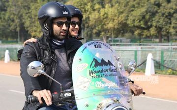 Malang: Aditya Roy Kapur-Disha Patani Take Over The Streets Of Delhi; Go Bike-Riding At India Gate