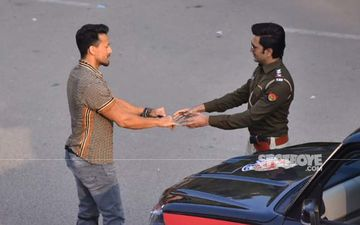 Papped- Tiger Shroff and Riteish Deshmukh filming for Baaghi 3 in Jaipur