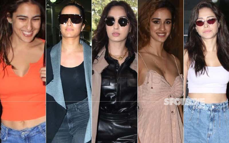 STUNNER OR BUMMER: Sara Ali Khan, Shraddha Kapoor, Nora Fatehi, Disha Patani Or Nushrat Bharucha?