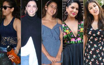 STUNNER OR BUMMER: Mira Rajput, Deepika Padukone, Sara Ali Khan, Sunny Leone Or Rhea Chakraborty?