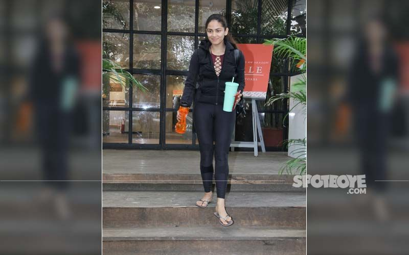Shahid Kapoor's Wife Mira Rajput Wears A Sexy Caged Bralette Under Her Jacket; Her Post-Workout Look Is All Sorts Of Goals-PICS