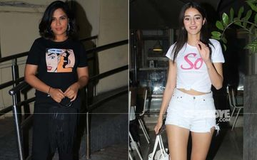 Ananya Panday's 'So Positive' And Richa Chadha's 'I Can Cook' Slogan Tees Are Wardrobe Essentials