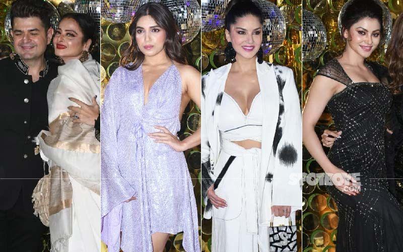 Dabboo Ratnani Calendar Launch: Rekha, Bhumi Pednekar, Sunny Leone, Urvashi Rautela Turn It Into A Night Full Of Glamour-PICS