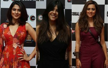 Jennifer Winget, Ekta Kapoor, Ridhi Dogra Put Their Best Fashion Foot Forward At Code M Success Bash