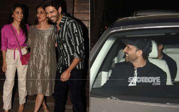 Bhool Bhulaiyaa 2: Kartik Aaryan, Kiara Advani, Tabu Get Together For A House Party, Bump Into Hrithik Roshan As He Drives By