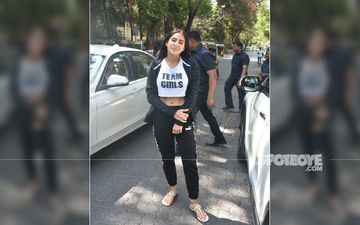 Sara Ali Khan Looks Washed Out As She Heads Out On A Normal Sunny Day; Is The Heat Getting To Her?