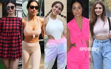 STUNNER OR BUMMER: Mouni Roy, Malaika Arora, Sara Ali Khan, Hina Khan Or Kriti Kharbanda?