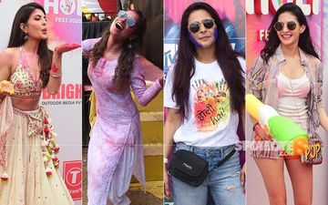 Holi 2020: Jacqueline Fernandez, Ankita Lokhande, Madhurima Tuli, Amyra Dastur Make Colourful Splash In The City