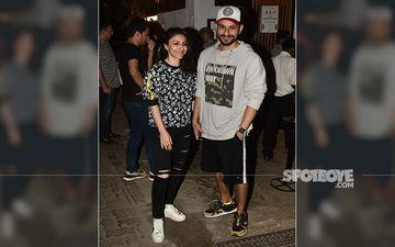After Celebrating Holi, Soha Ali Khan And Kunal Kemmu Step Out To Get Some Grub In The City