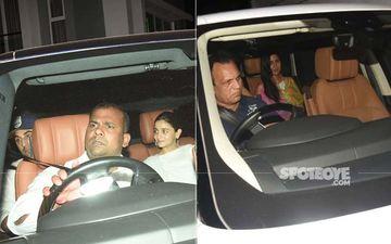 Alia Bhatt, Ranbir Kapoor And Katrina Kaif Come Under One Roof To Celebrate Holi - PICS