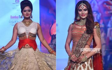 Rashami Desai And Urvashi Rautela Turn Showstopper; Look Stunning On The Runway