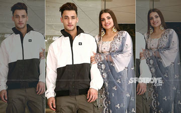 Kalla Sohna: Lovebirds Asim Riaz-Himanshi Khurana Ooze Romance As They Step Out To Promote Their Love Ballad