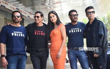 Sooryavanshi Trailer Launch: Rohit Shetty, Ajay Devgn, Katrina Kaif, Akshay Kumar, Karan Johar Make For A Dashing Entry