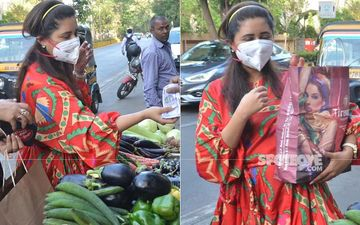 Coronavirus Outbreak: Ahead Of Janta Curfew A Masked Rashami Desai Goes Street Shopping To Stock-Up Vegetables; We Can't Help But Relate