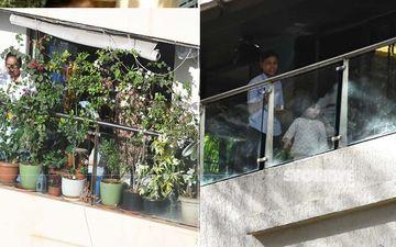 Janta Curfew: Kareena Kapoor Khan-Saif Ali Khan's Little Munchkin Taimur Ali Khan Plays Drums In His Balcony-PICS