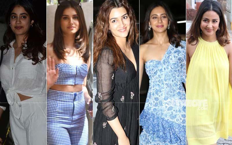 STUNNER OR BUMMER: Janhvi Kapoor, Tara Sutaria, Kriti Sanon, Rakul Preet Singh Or Hina Khan?