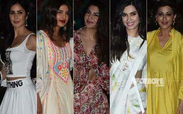 BEST DRESSED & WORST DRESSED At Isha Ambani Piramal's Holi Party: Katrina Kaif, Priyanka Chopra Jonas, Jacqueline Fernandez, Diana Penty Or Sonali Bendre?