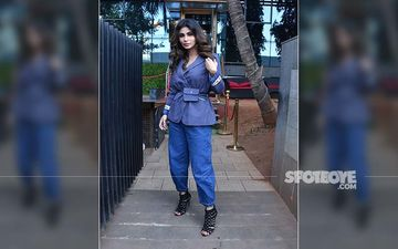 Mouni Roy Gets Spotted In Denim-On-Denim Outfit - Monday Motivation Or Blues?