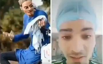 TikTok User Who Ridiculed Facemasks Saying 'Trust In God, Not In Masks', Tests Positive For COVID-19-VIDEO