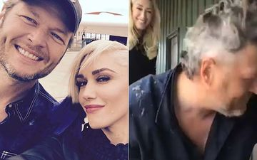Blake Shelton Gets Jimmy Fallon's Initials Shaved On His Head By GF Gwen Stefani, Ends Up With Joe Exotic's Hairstyle Instead-WATCH