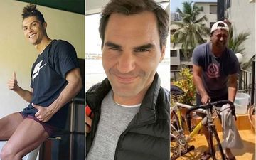 Here's How Sports Stars Roger Federer, Leander Paes, Cristiano Ronaldo And Others Are Keeping Themselves Busy Amid Lockdown