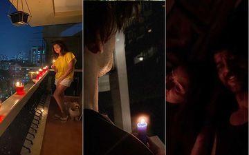 PM Modi's #9pm9minute Blackout: Karishma Tanna, Asim Riaz, Hiten Tejwani- Gauri Pradhan Take Part In The Light-A-Candle Initiative