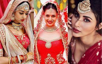 Bridal Looks Of Erica Fernandez, Divyanka Tripathi, Shivangi Joshi, Drashti Dhami And Mouni Roy; Who Looked The Prettiest?