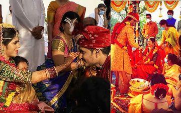 Nikhil Siddhartha Marries Pallavi Varma Amid Lockdown; Check Out INSIDE Pics And Videos From Telugu Star's Quarantine Wedding