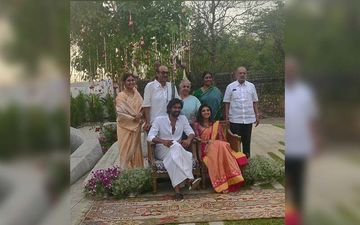INSIDE PICTURES-Rana Daggubati And Miheeka Bajaj Roka Ceremony: Love Soaked Snaps Of The Couple And Family From Their Function