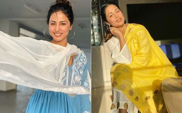 Hina Khan's Eid Celebration In Pics: From Making Biryani, Spotting The Chand From Her Gorgeous Balcony To Dressing Pretty