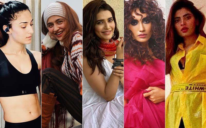 BEST DRESSED & WORST DRESSED Of The Week: Erica Fernandes, Sanjeeda Shaikh, Karishma Tanna, Surbhi Jyoti Or Karishma Sharma?