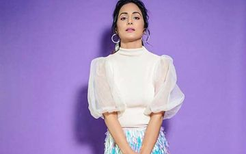 Can't Get Enough Of Hina Khan's OOTN Look; Lady Channels Sparkly Skirt And Turtle Neck Top With Sass