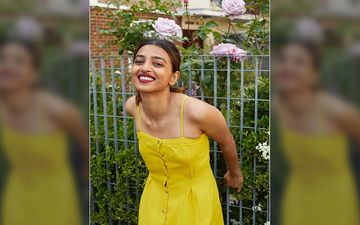 Radhika Apte Shoots In And Around Her London House For An 'Atma Nirbhar' Photo Shoot