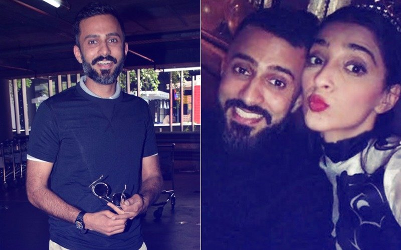 Let The Fun Begin: Sonam Kapoor's Fiancé Anand Ahuja Arrives In Mumbai