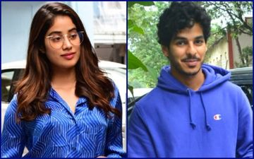 Janhvi Kapoor And Ishaan Khattar Twinning In Blue Is Saturday Done Right!