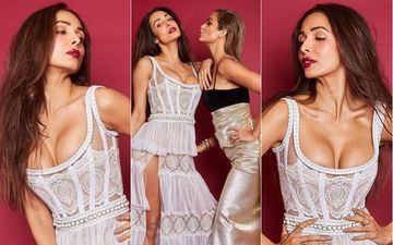 Malaika Arora's Thigh-High Slit And Deep Cleavage Will Make You Drool Over Her Oh-So-Hot Pictures