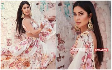Katrina Kaif Is Beauty Personified In This Sabyasachi Creation, Barring The Earrings! - EXCLUSIVE