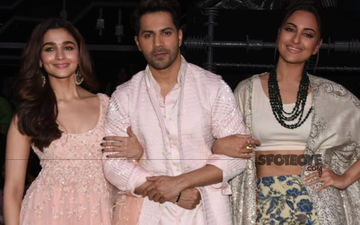 Kalank Stars Alia Bhatt, Varun Dhawan, Sonakshi Sinha Promote The Film On Super Dancer 3